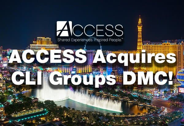 ACCESS Acquires CLI Groups DMC!